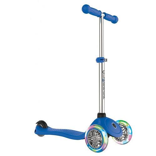 קורקינט מקצועי לילדים PRIMO לד צבע כחול GLOBBER