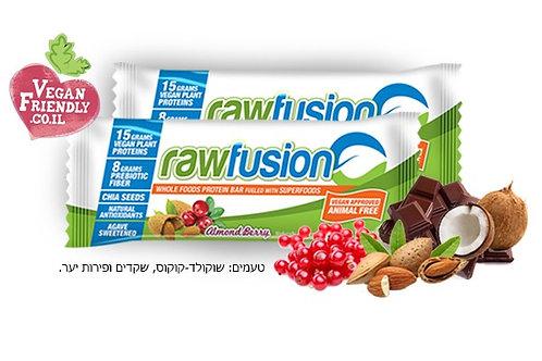 חטיף חלבון טבעוני Raw Fusion