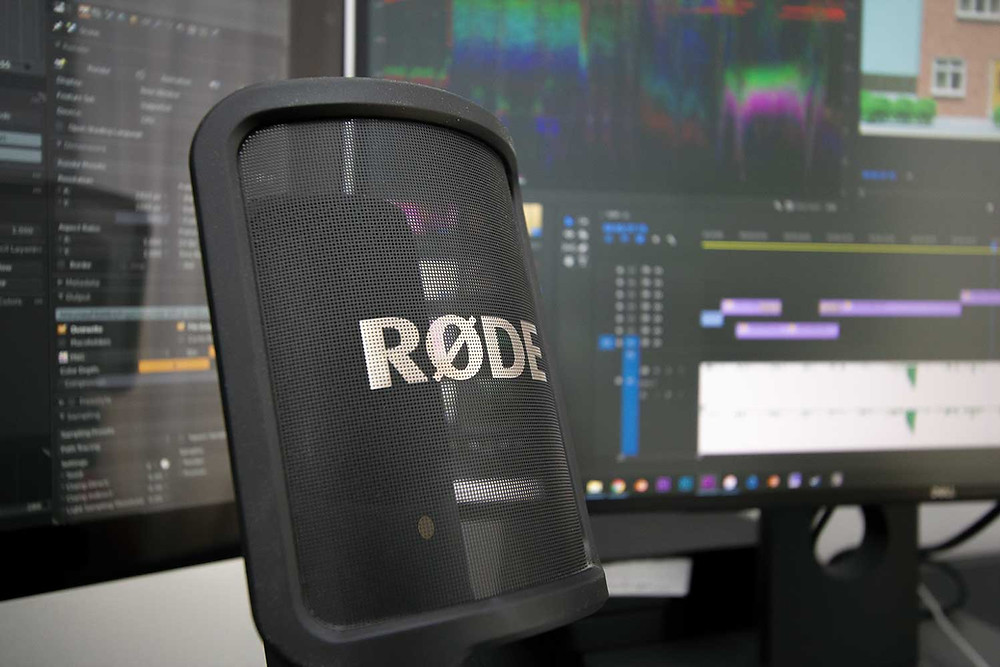 Image of a rode microphone
