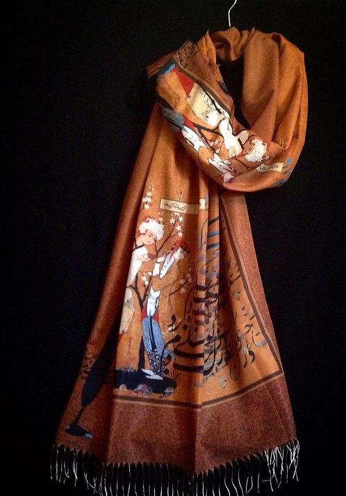 Châle foulard Azal