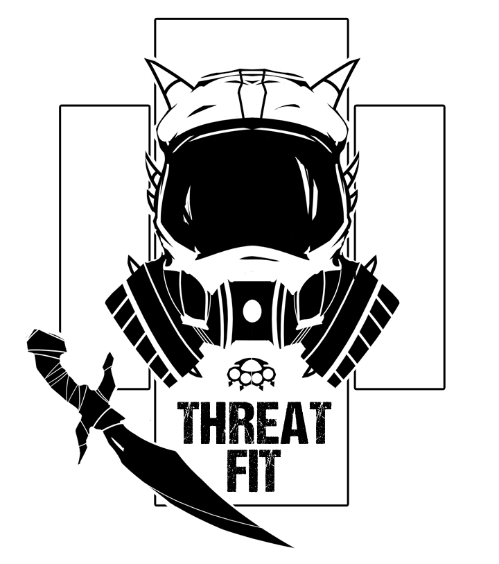 A Threat Fit T-Shirt design.