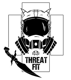 A Threat Fit T-Shirt design.