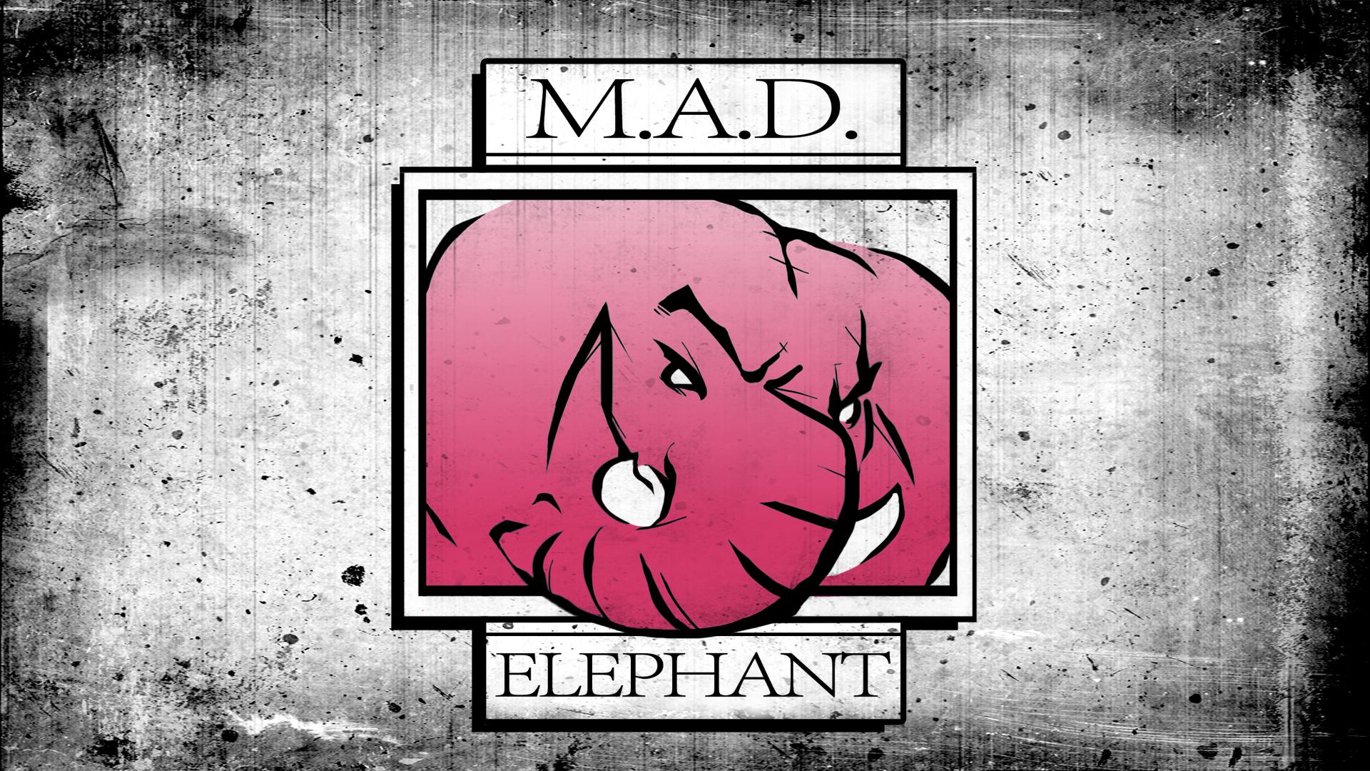 M.A.D. Elephant Pictures Logo
