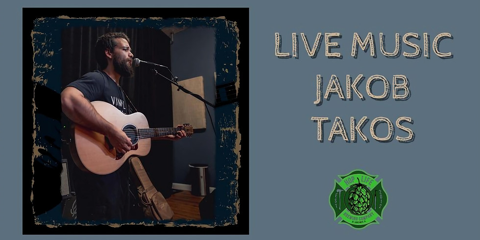Jakob Takos Live @ Hop Life Brewing