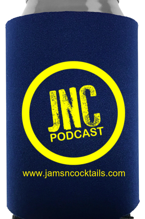 JNC Podcast Koozie