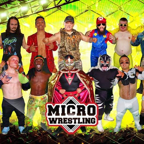 Micro Wrestling Returns to Port St Lucie, FL!