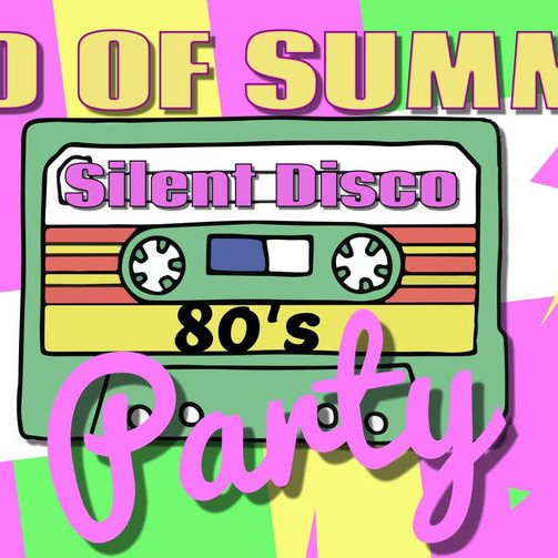 Totally 80's Silent Disco Party
