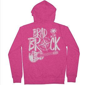 women - hoodie - bb guitar - pink.jpg