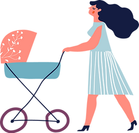 Mom with Stroller