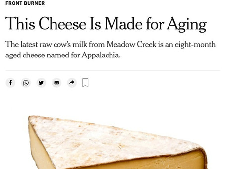 Appalachian in the New York Times!