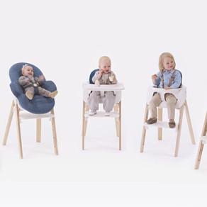 La chaise Steps de Stokke ou le must de la chaise haute évolutive