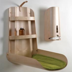 Une table à langer idéale pour les petits espaces