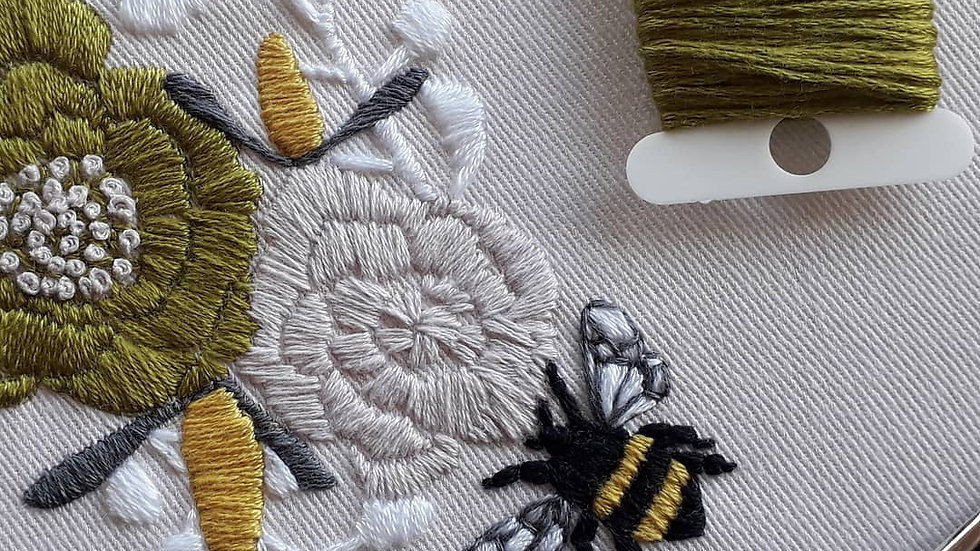 Blossom & Bee embroidery kit