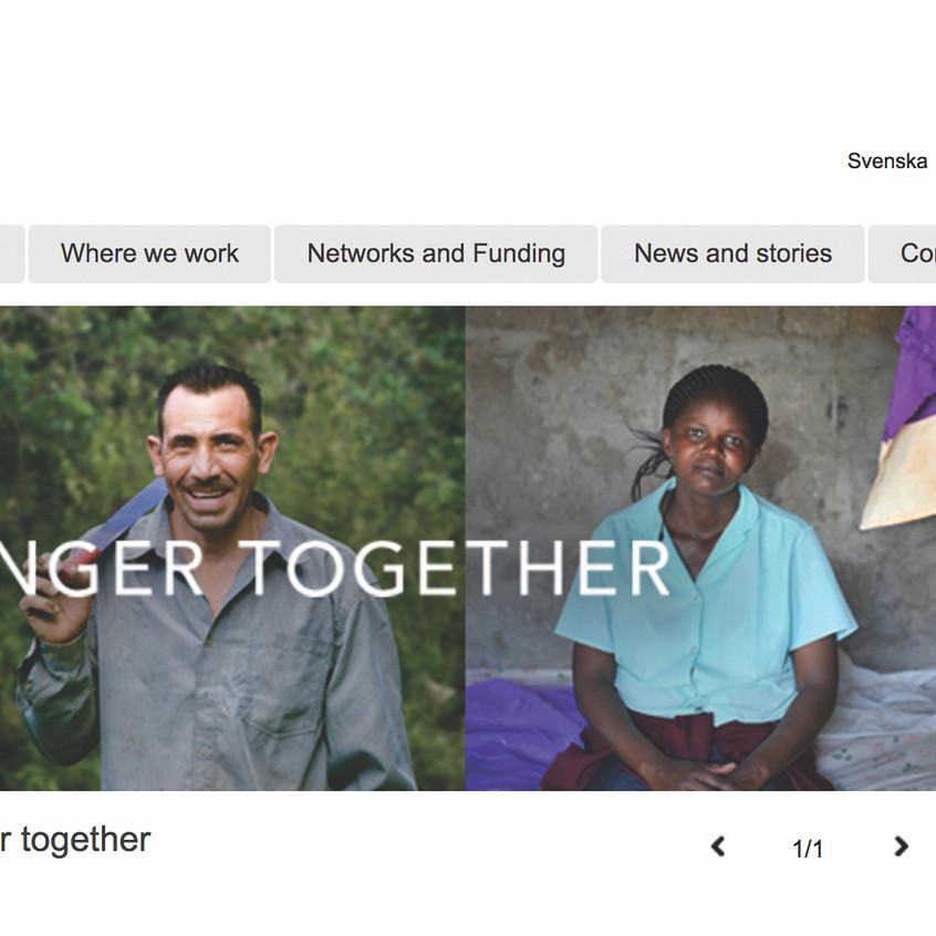'We Effect' Website