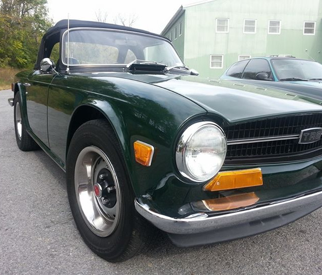 Tr6 we did stopped by to say hello.. loo