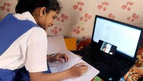 Online Education in Private Schools & Government Schools of India
