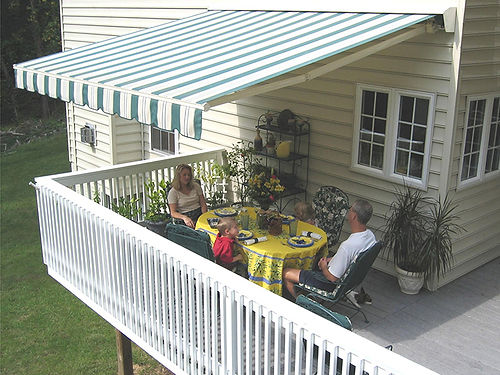 SunSetter Awnings in San Jose, CA   Abby's Awning & Blind ...