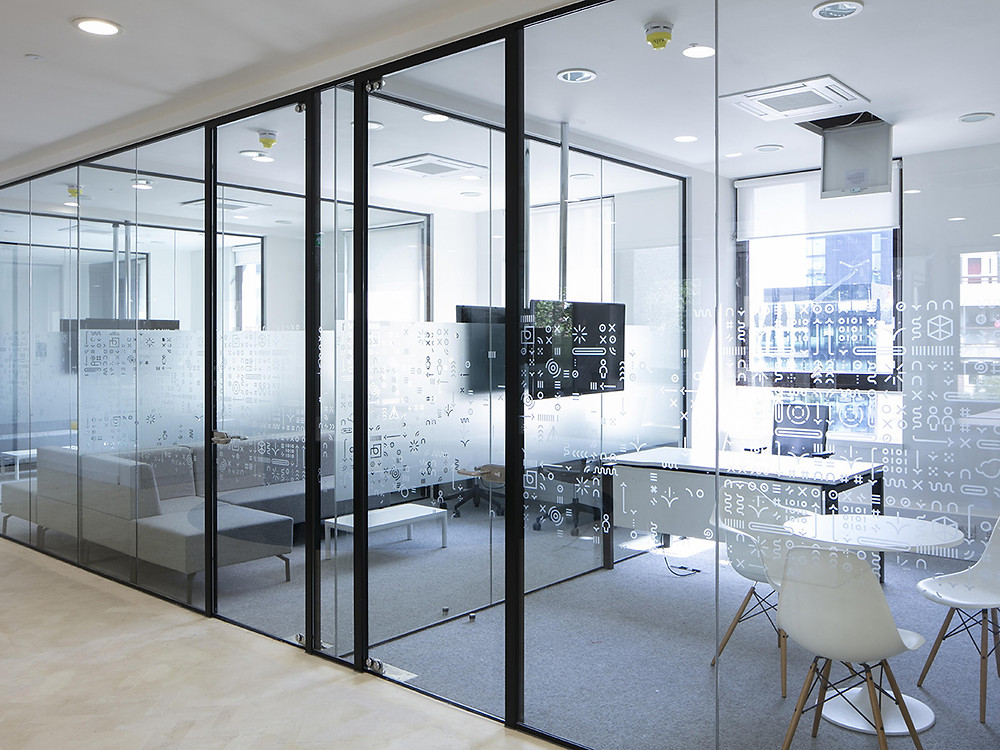 Office Glass Partitioning in London