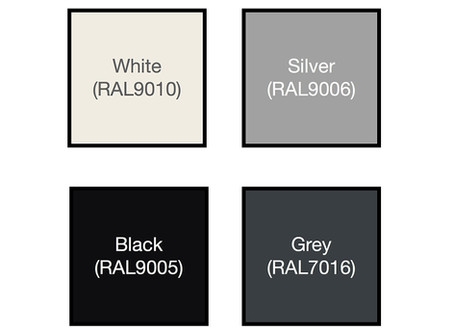 How to choose glass partition glazing track colours