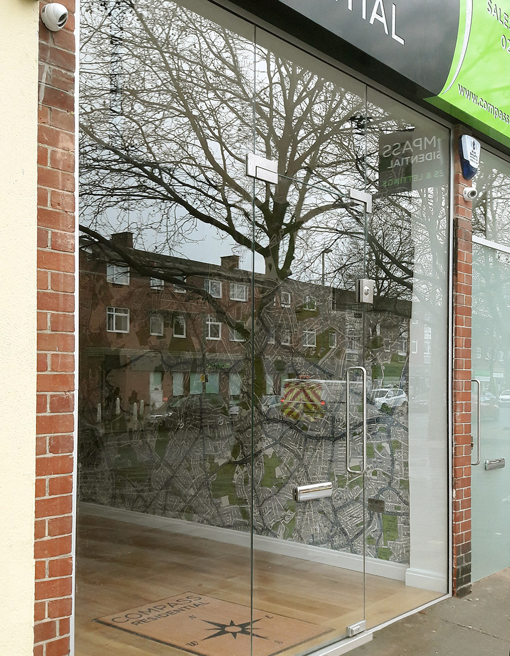 Shop Front Glazing by Prism Glass