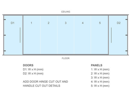 Part 2: Quick guide to measuring glass partitioning