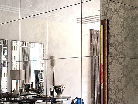 Using mirrors to improve an interior space