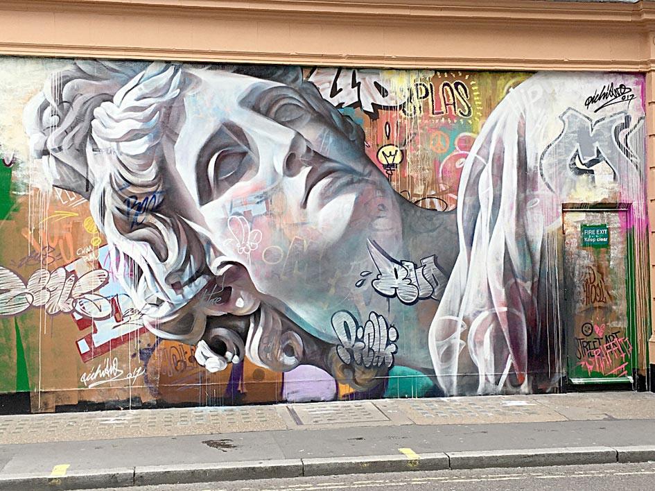 Soho, London street art
