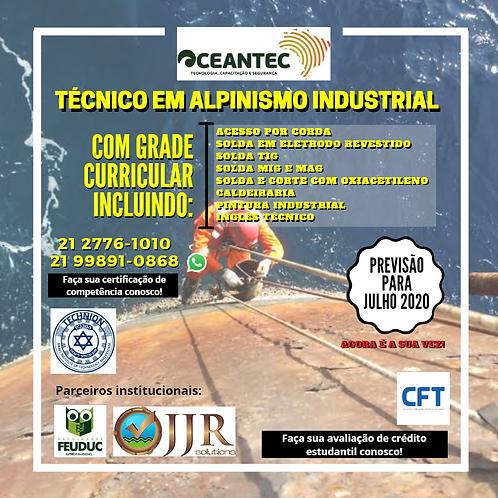 Curso Técnico em Alpinismo Industrial