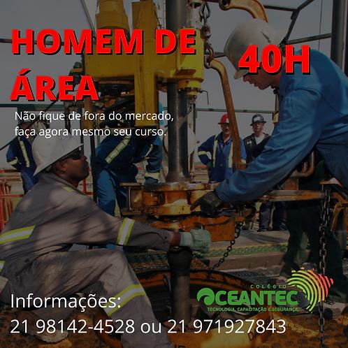 Curso de Homem de Área (40hs) – Curso de Auxiliar de Movimentação de Carga / Hom