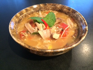 Tom Yum soup (Spicy Thai soup)