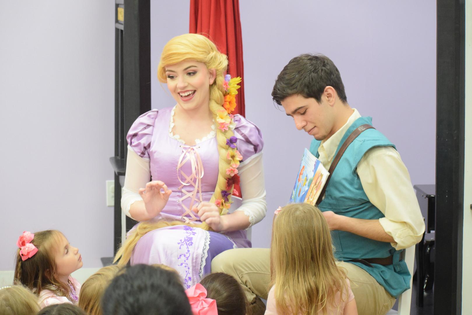 Rapunzel + Flynn