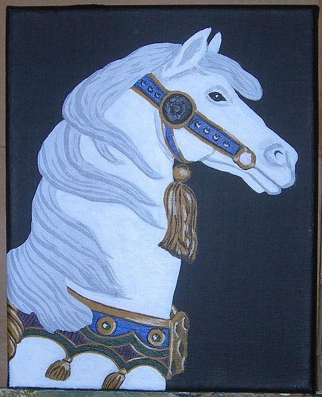 Painting 6 - Carousel Horse 2.jpg