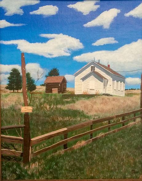 Painting 1 - Country School House.jpg