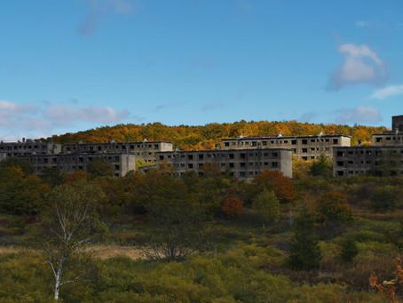 かつて東洋一の硫黄鉱山、雲上の楽園と称された旧松尾鉱山の歴史を辿る旅。 #八幡平市 #硫黄 #鉱山 #中和処理施設 #赤川
