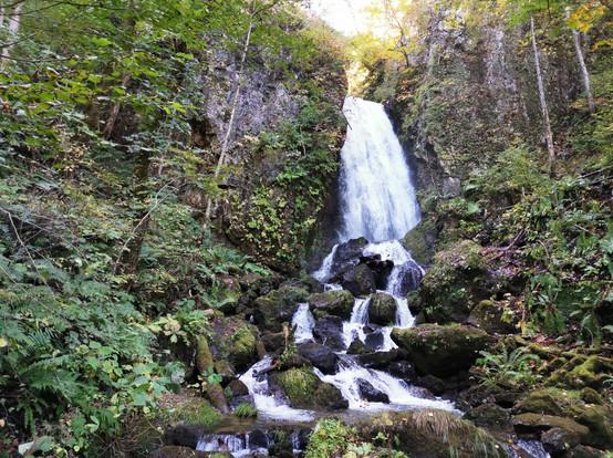 桜松神社 不動の滝