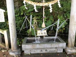 長者屋敷清水(湧水)