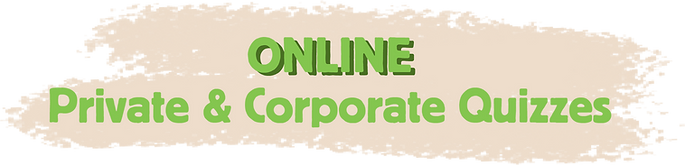 Online Private & Corporate Quizzes