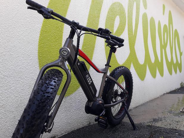 Location de Fat Bike Electrique à Saint Jean de Monts en Vendée à Vélivélo