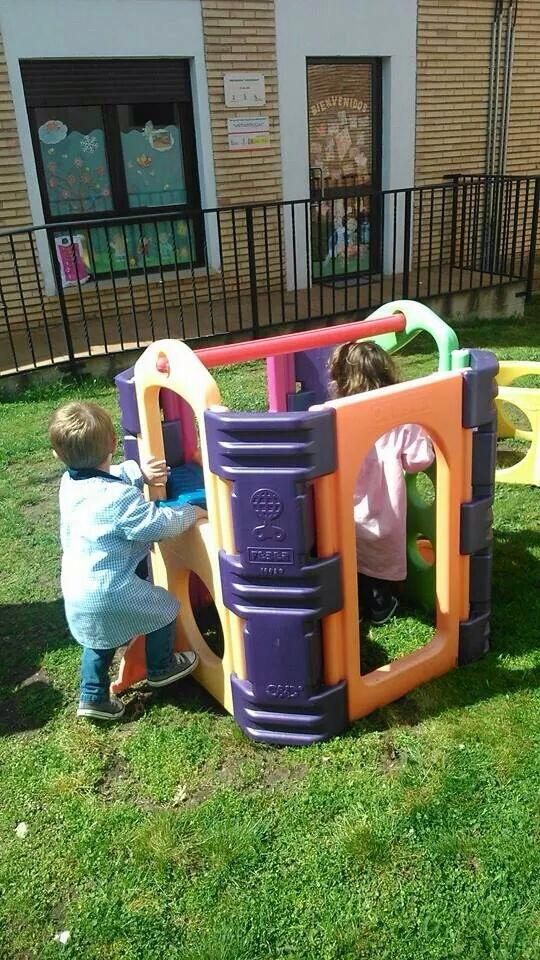 ¡Y jugar en el jardín!