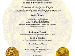 Jan 18, 2017: Book Launch and Preview at National Museum, New Delhi