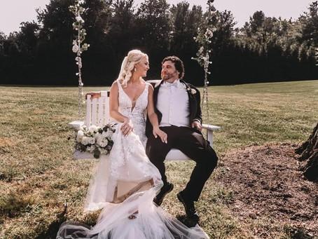 A White Backyard Wedding