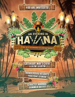 HAVANA POSTER INVITATION