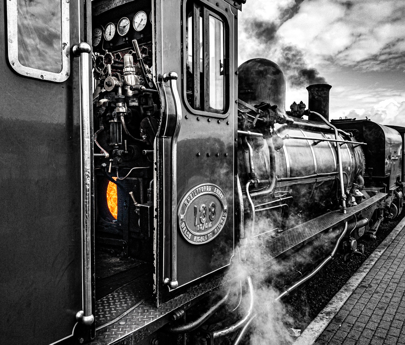 PDI - Steam Up by Andrew Cameron-Mitchell ( 9 marks)