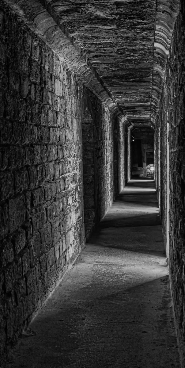 MONO - Passageway by A. Cameron-Mitchell (10 marks)