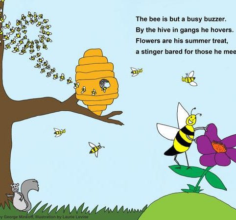 The busy bee poem