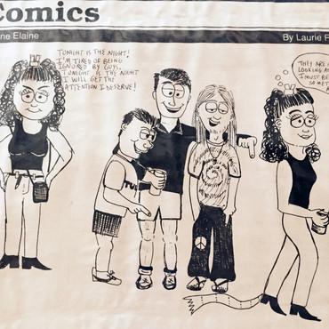Tulane Elaine Comic