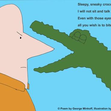 Sleepy Crocodile Poem