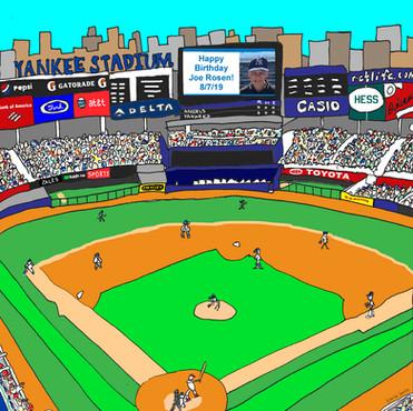 Yankee Stadium Birthday