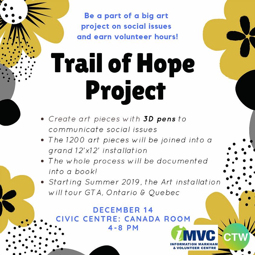 CTW x New Step 4 U: Trail of Hope