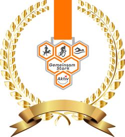 Golden Medaille Gemeinsam Stark Aktiv I